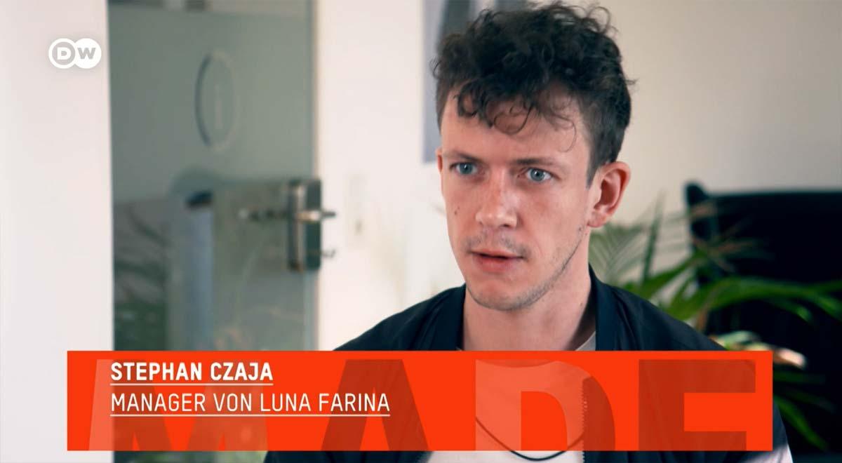 """""""Tillverkad i Tyskland"""" @ DW TV om Influencer Marketing - Intervju Luna Farina & Stephan M. Czaja"""
