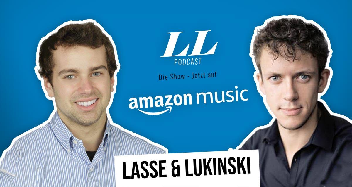 Amazon Music: Lasse & Lukinski Show finns nu även på Amazon!