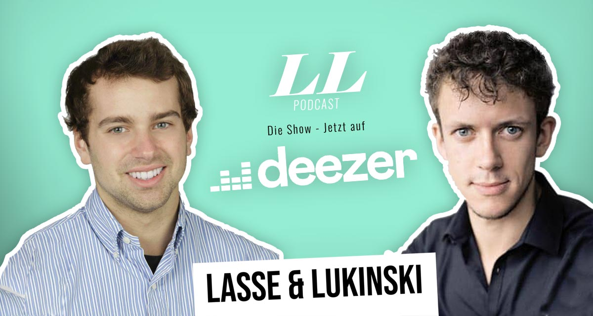 Deezer: Lasse & Lukinski Show finns nu även på Deezer!