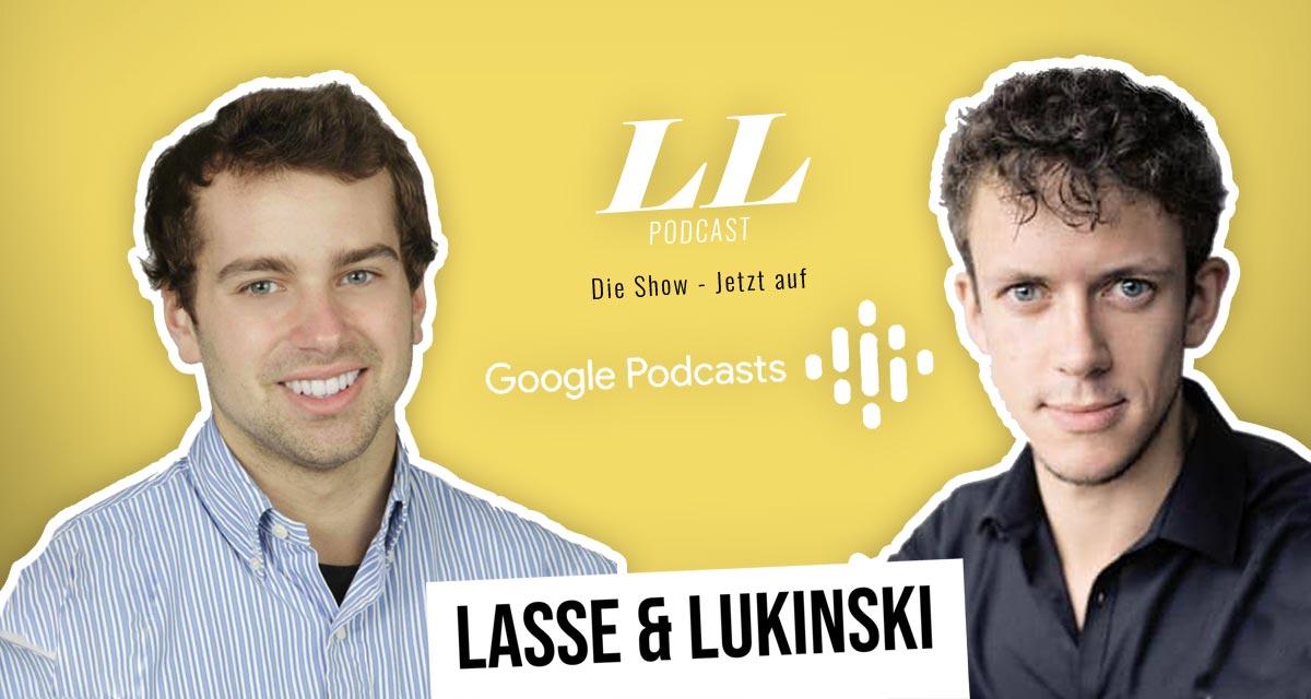 Google Podcasts: Lasse & Lukinski Show finns nu även på Google!